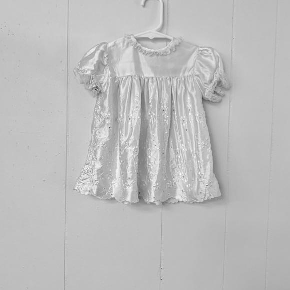 Other - Infant dress with lace edging